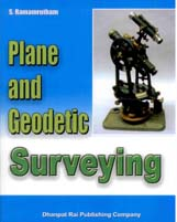 + Plane and Geodetic Surveying + Dhanpatrai Books