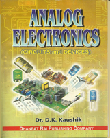 + Analog Electronics  + Dhanpatrai Books