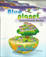 Class II + The Vibrant Blue Planet-2 + Dhanpatrai Books