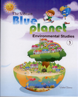 Class III + The Vibrant Blue Planet-3 + Dhanpatrai Books