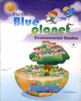 Class V + The Vibrant Blue Planet-5 + Dhanpatrai Books