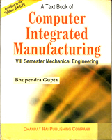 + Computer Integrated Manufacturing  + Dhanpatrai Books