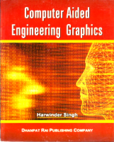 Computer Science + Computer Aided Engineering Graphics + Dhanpatrai Books