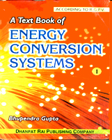 + A Text book of Energy Conversion System + Dhanpatrai Books