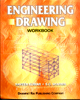 + Engineering Drawing Workbook + Dhanpatrai Books