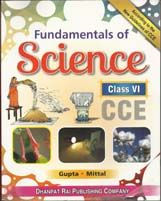 Class VI + Fundamental of Science-VI- CCE + Dhanpatrai Books