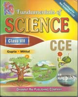 Class VII + Fundamental of Science-VII- CCE + Dhanpatrai Books