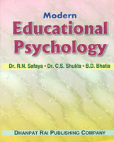 Educational Books + Modern Educational Psychology + Dhanpatrai Books