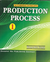 + Production Process-I + Dhanpatrai Books