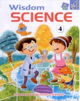 + Wisdom Science-4 + Dhanpatrai Books